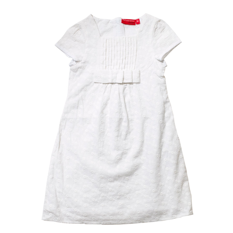 SALT AND PEPPER Girls Kleid white