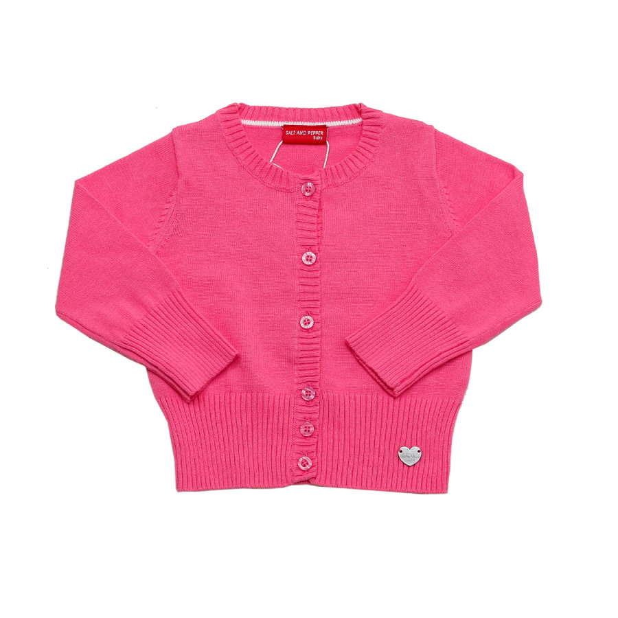 SALT AND PEPPER Girls Strickjacke pink