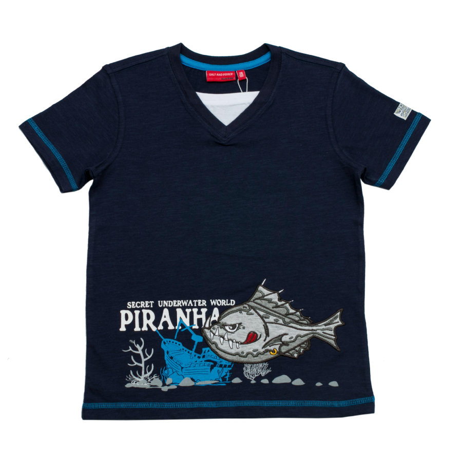 SALT AND PEPPER Boys T-Shirt navy