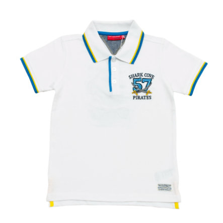 SALT AND PEPPER Boys Polo blanc