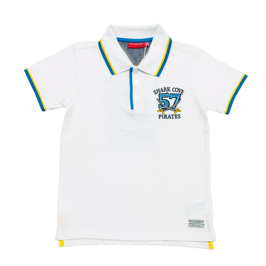 SALT AND PEPPER Boys Poloshirt white