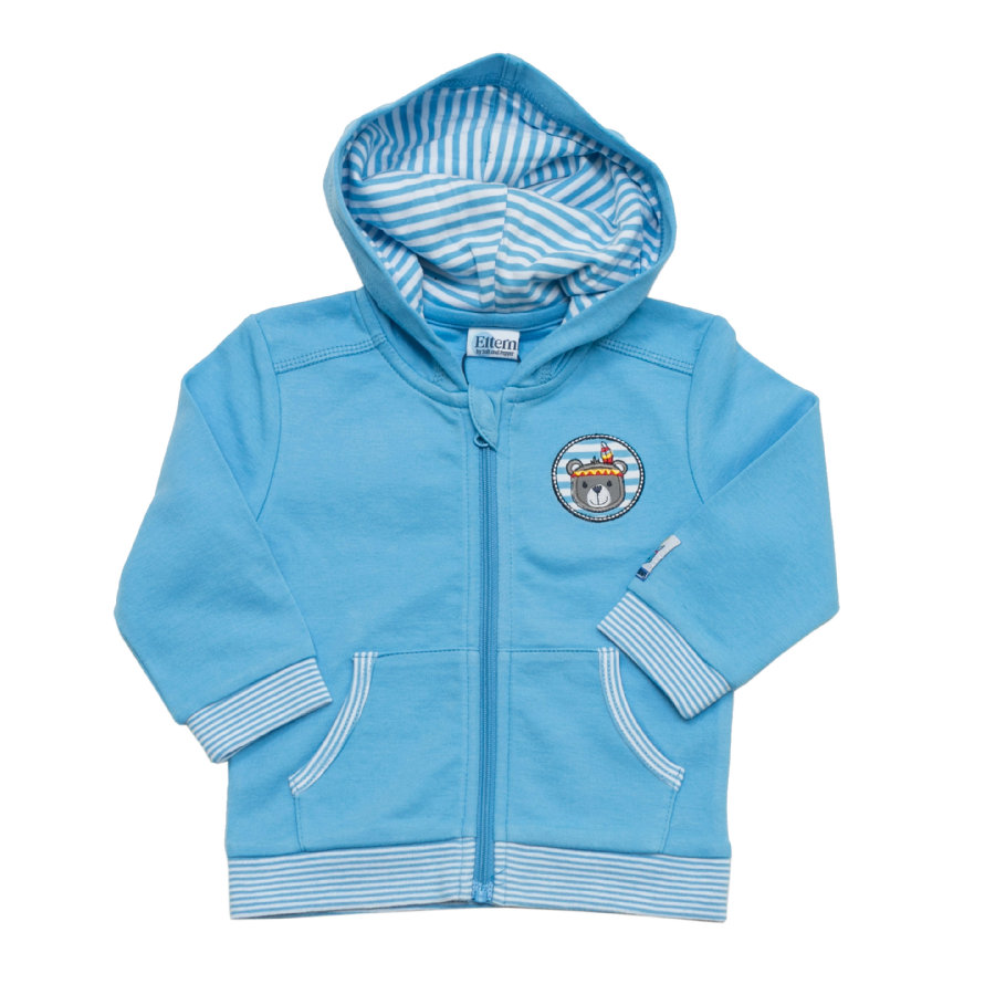 ELTERN by SALT AND PEPPER Boys Sweatjacke light blue