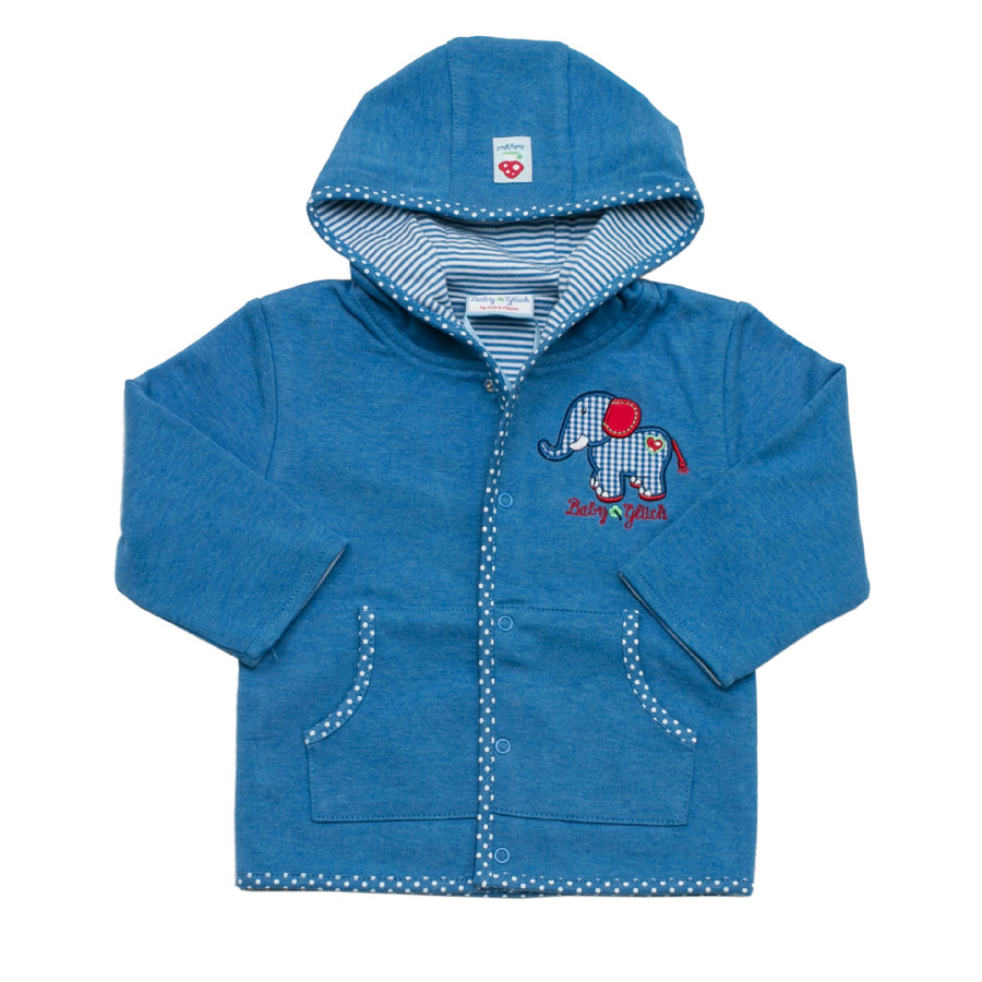 SALT AND PEPPER Baby Glück Boys Sweatjacke blue