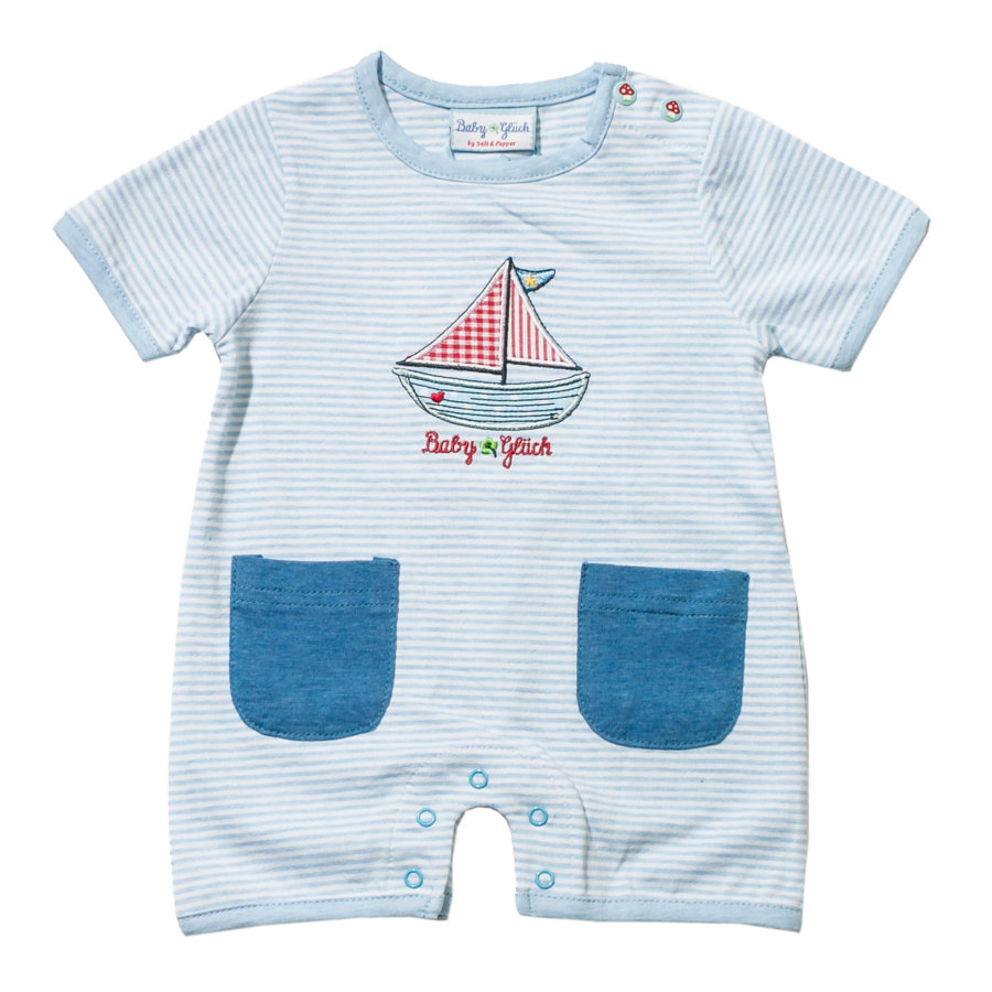 SALT AND PEPPER Baby Glück Boys Spieler light blue