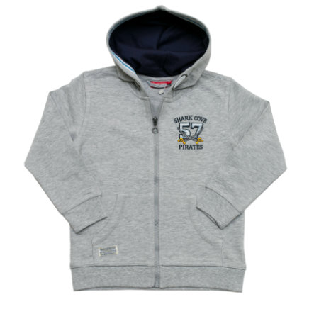 SALT AND PEPPER Boys Sweatjacke grey melange