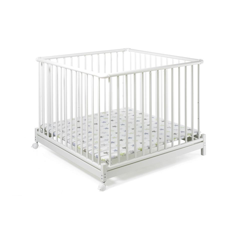 Geuther Parc bébé Emil étoiles blanc, 97 x 97 cm