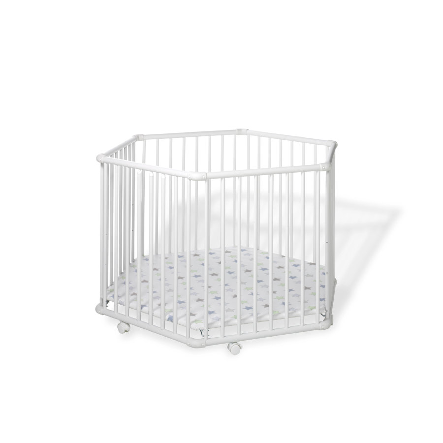 GEUTHER Kojec 6-kątny MATRIX White