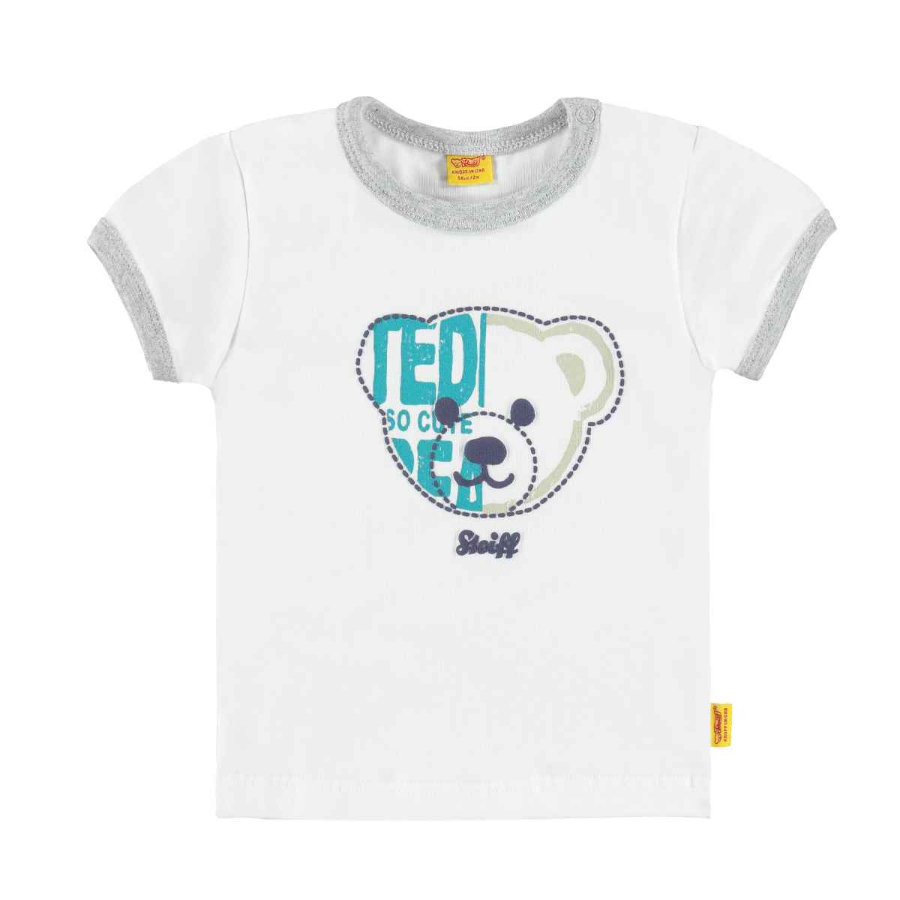 Steiff Boys T-Shirt bright white