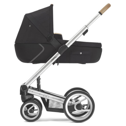 MUTSY Kinderwagen IGO Gestell Reflect Special Edition Standard inkl. Wanne Black Special