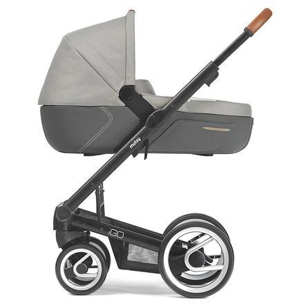 MUTSY Kinderwagen IGO Gestell Pure Black Pure Storm