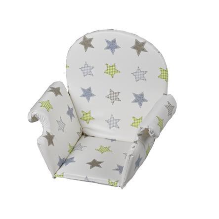 GEUTHER Polstrování do jídelní židličky univerzální - hvězdičky