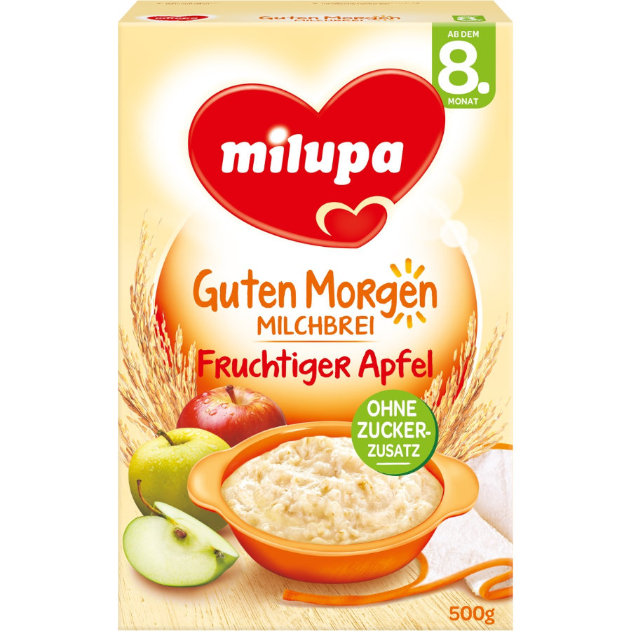 Milupa Milk Mash Apple Vanilla 500g
