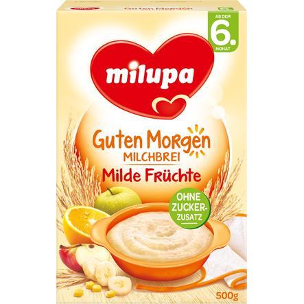 Milupa Milk Cereal Mild Fruit 500g