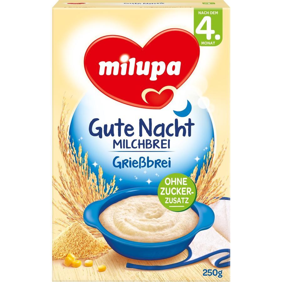 Milupa Milk Mash Semolina 250g