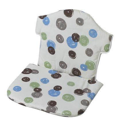 GEUTHER Réducteur d'assise pour chaise haute Swing, Points colorés