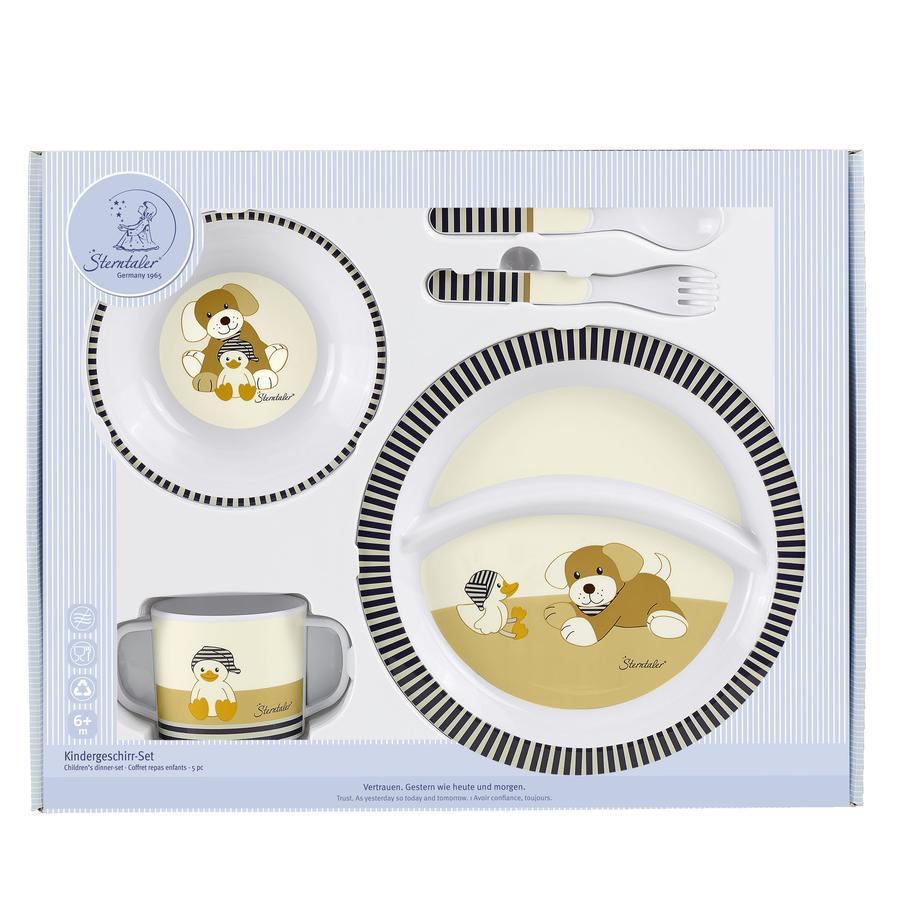 sterntaler kindergeschirr set hund hanno 6801619. Black Bedroom Furniture Sets. Home Design Ideas