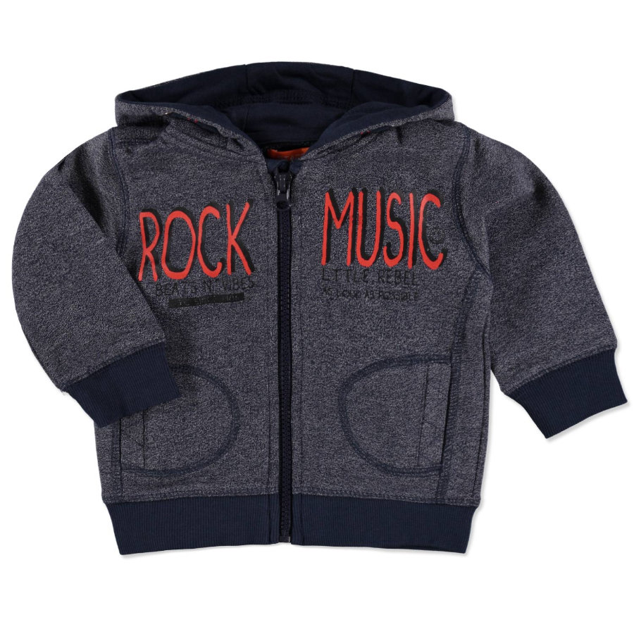 STACCATO Boys Baby Sweatjacke midnight structure