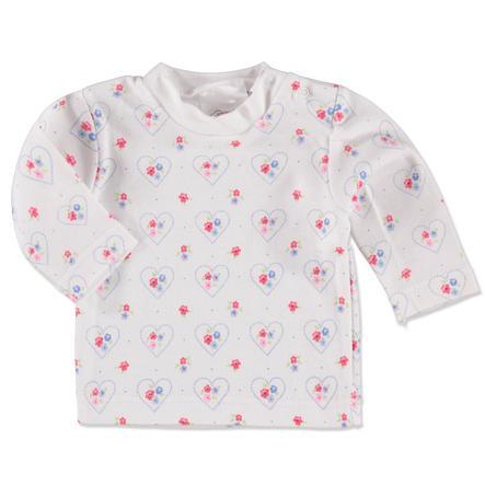 pink or blue Bluzka z krótkim rękawkiem white