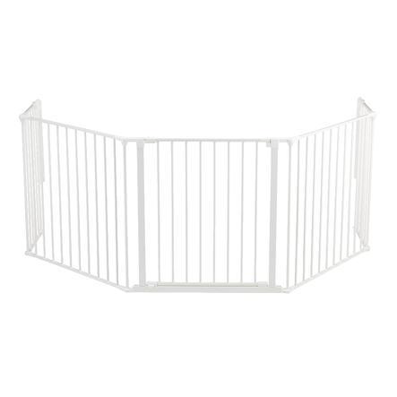 BabyDan Barrière de sécurité multifonction XL, blanc