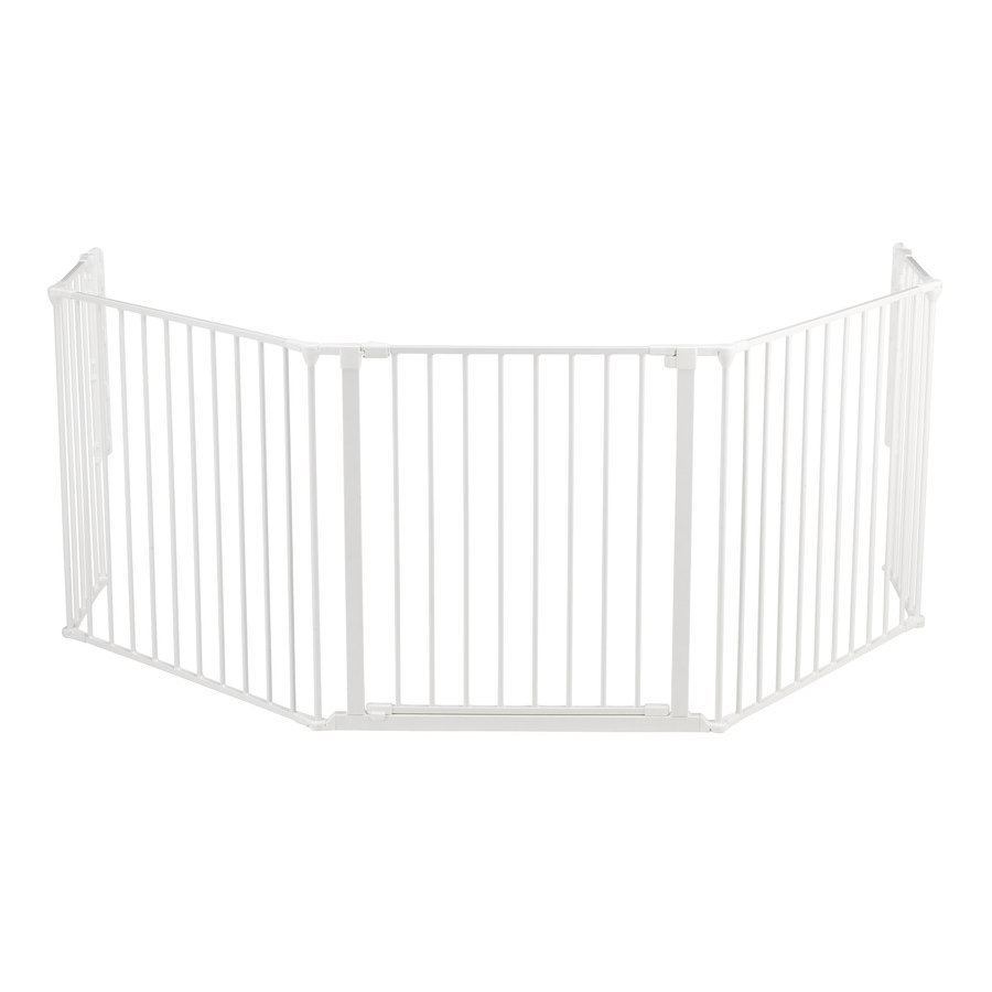 Baby Dan Flex XL Barrera de protección blanco