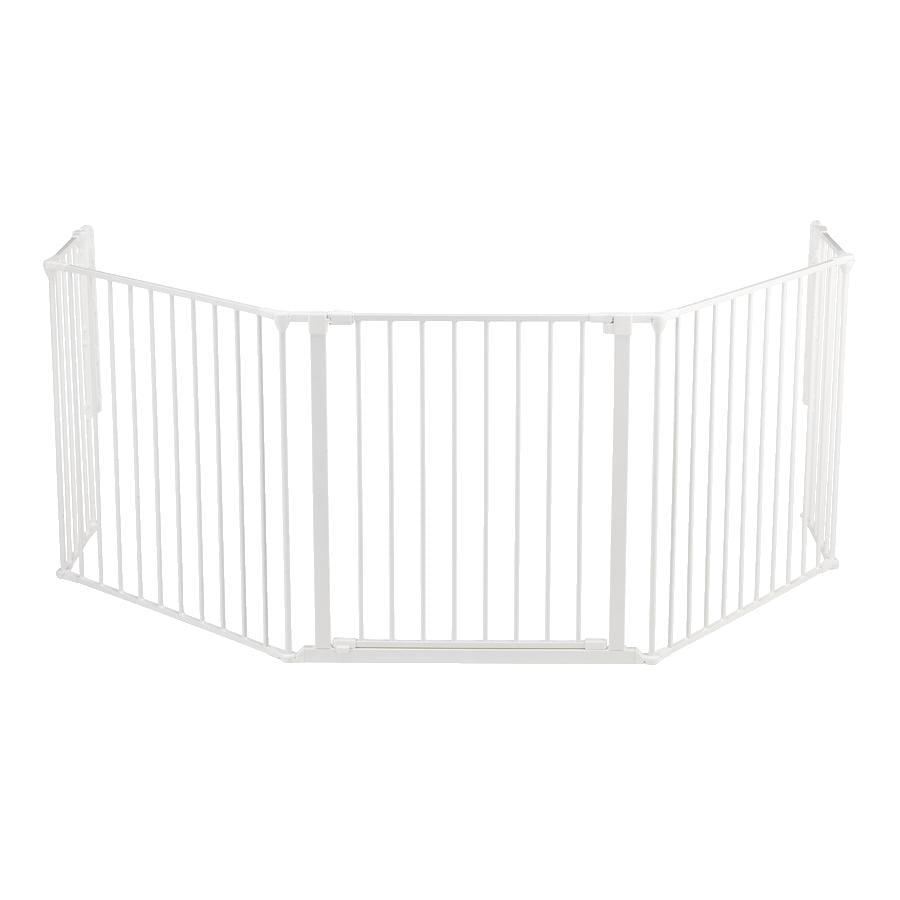 BabyDan Flex XL prostorová zábrana - bílá