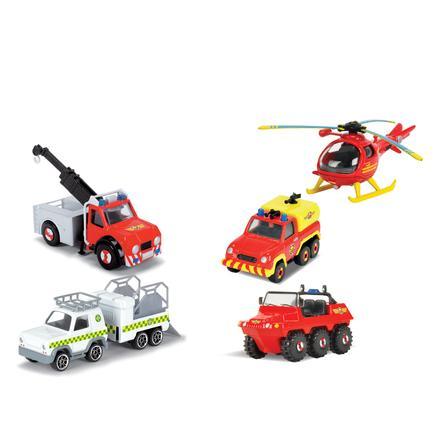 DICKIE Toys Coffret Sam le pompier, 3 véhicules