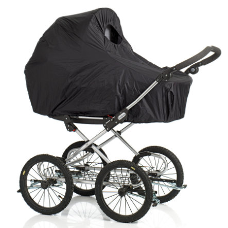 Baby Dan Regenschutz für Kinderwagen schwarz