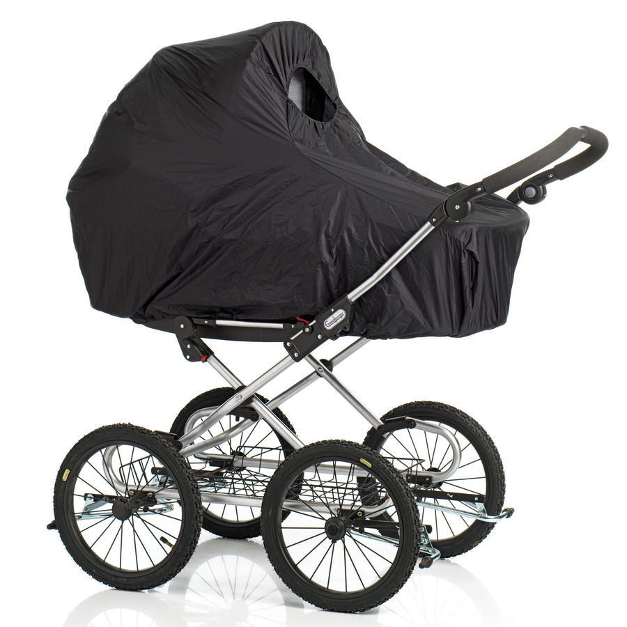 Baby Dan Regenhoes voor kinderwagen zwart