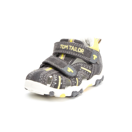 TOM TAILOR Boys Sandale grey-yellow