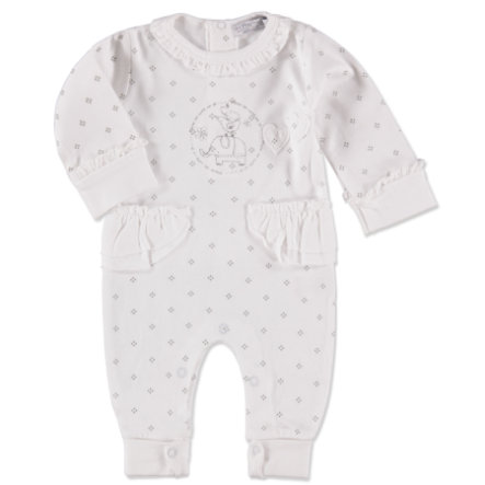 DIRKJE Girls Overall white/grey