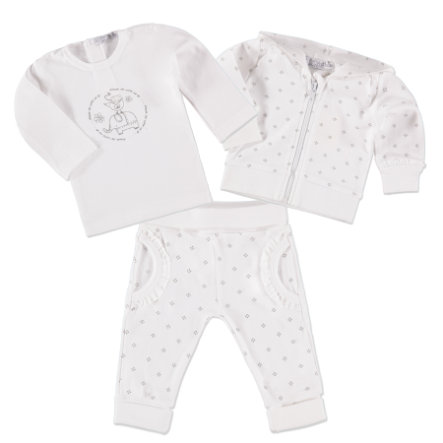 DIRKJE Girls Set 3-tlg. white/grey