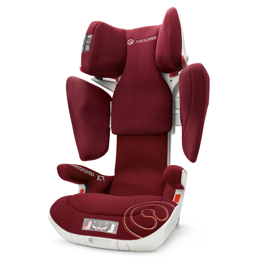 CONCORD Kindersitz Transformer XT Bordeaux Red