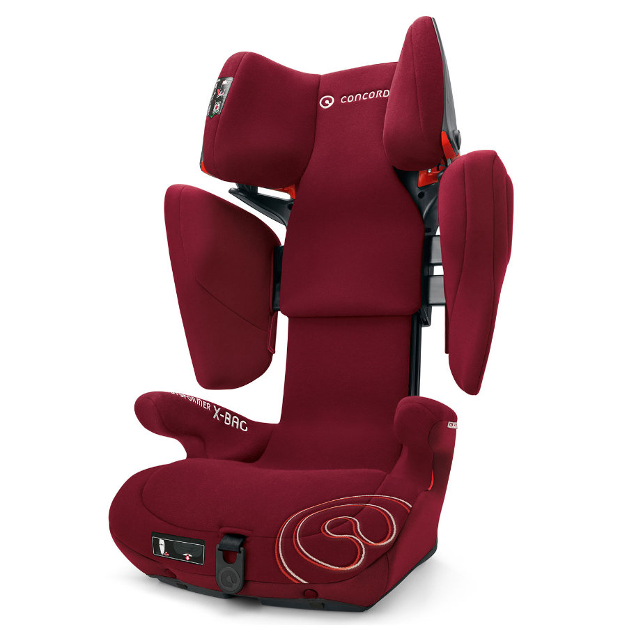 CONCORD Kindersitz Transformer X-Bag Bordeaux Red