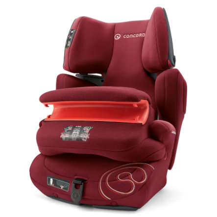 CONCORD Kindersitz Transformer Pro Bordeaux Red