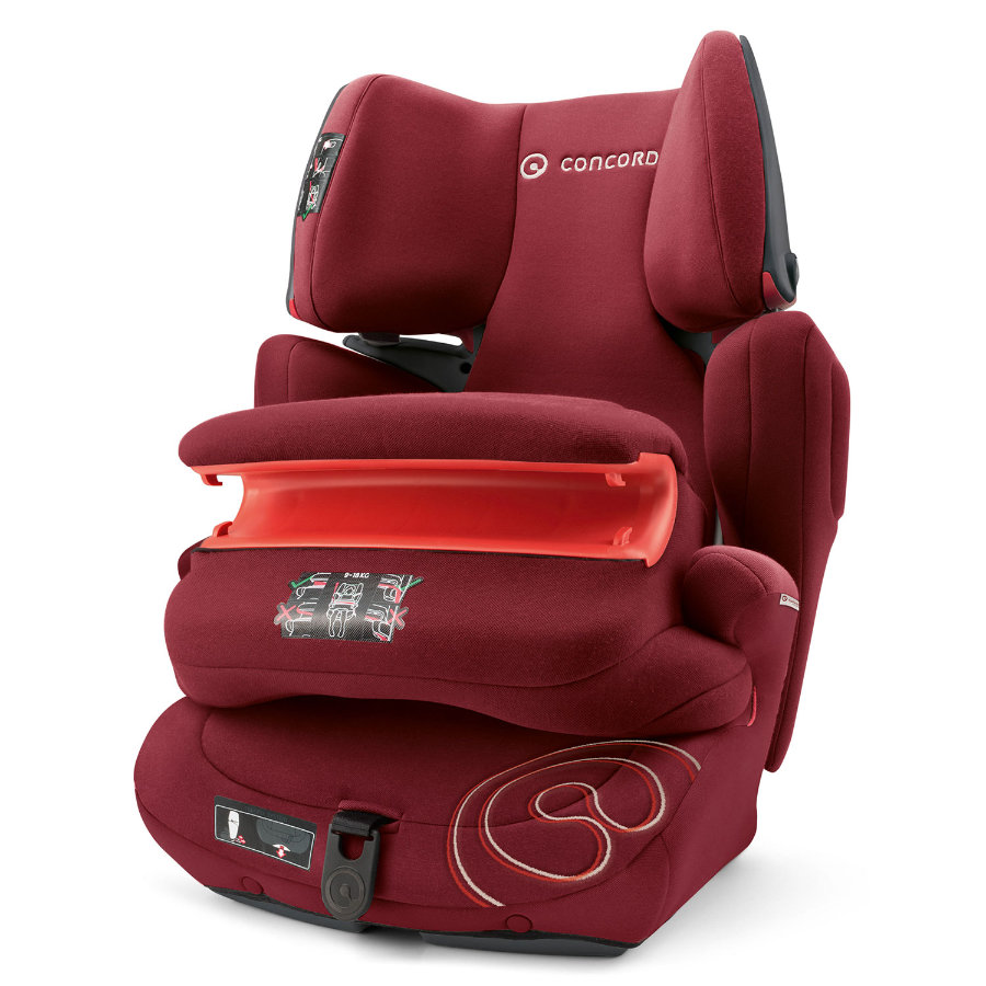 CONCORD Bilbarnstol Transformer Pro Bordeaux Red