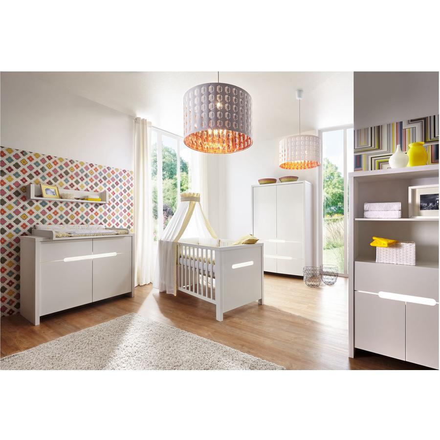 Schardt Kinderzimmer Poppy White 2-türig - babymarkt.de | {Schardt kinderzimmer 32}