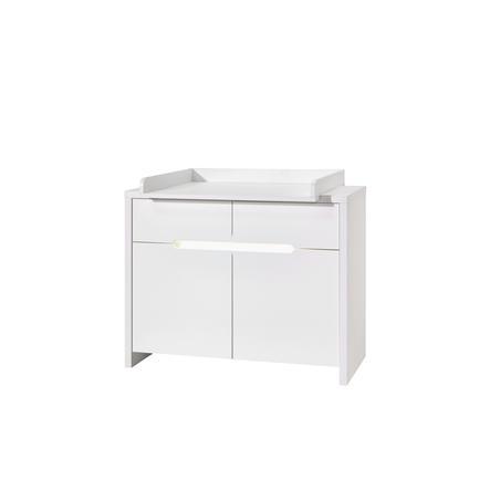 SCHARDT Mobile fasciatoio con superficie di appoggio POPPY WHITE