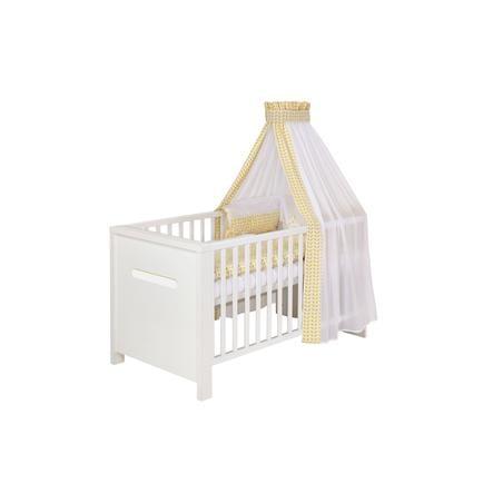 SCHARDT Lit bébé évolutif POPPY WHITE, 70 x 140 cm