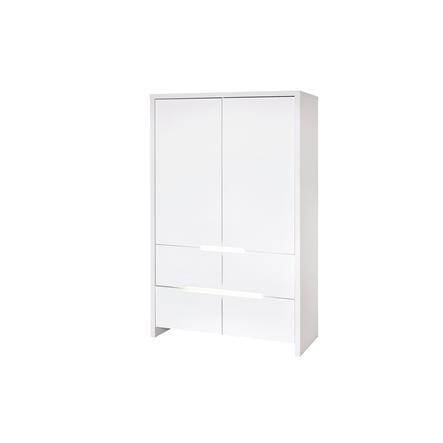 SCHARDT Armoire 2 portes POPPY WHITE