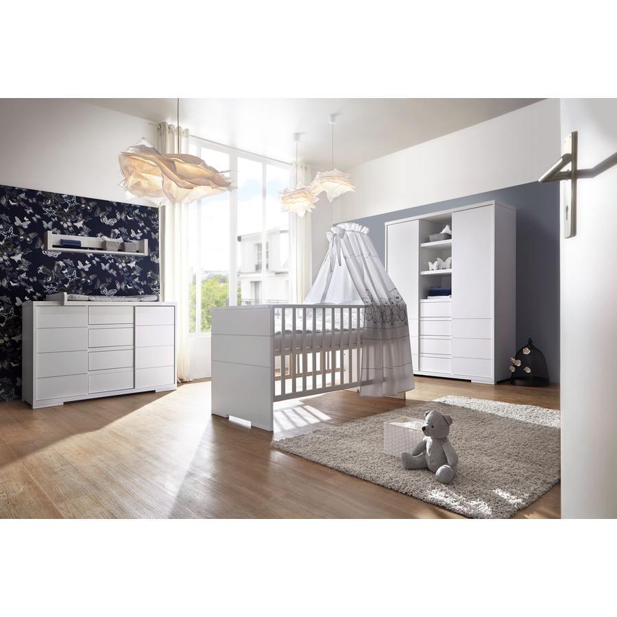 Schardt dětský pokoj Maxx White dvoudveřový