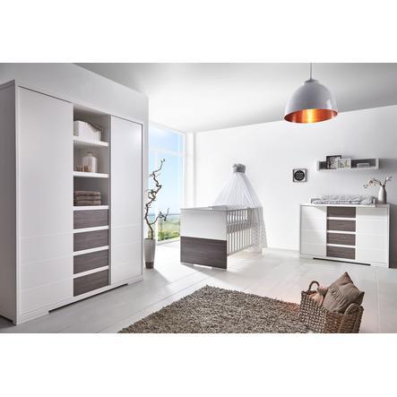 SCHARDT Ensemble chambre d'enfant MAXX FLEETWOOD, blanc/couleurs bois