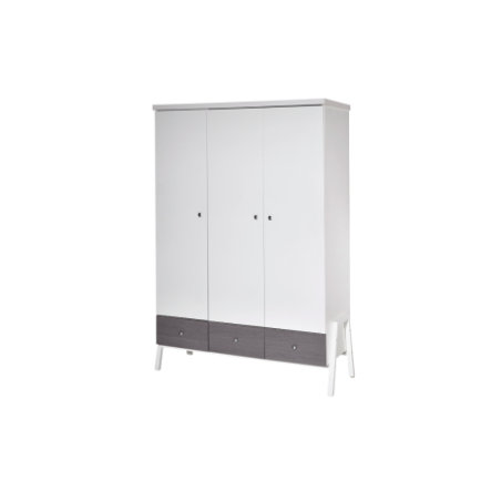 Schardt Kleiderschrank Holly Grey 3-türig