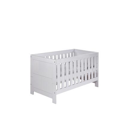 Schardt Kombi-Kinderbett Nordic hochglanz weiß