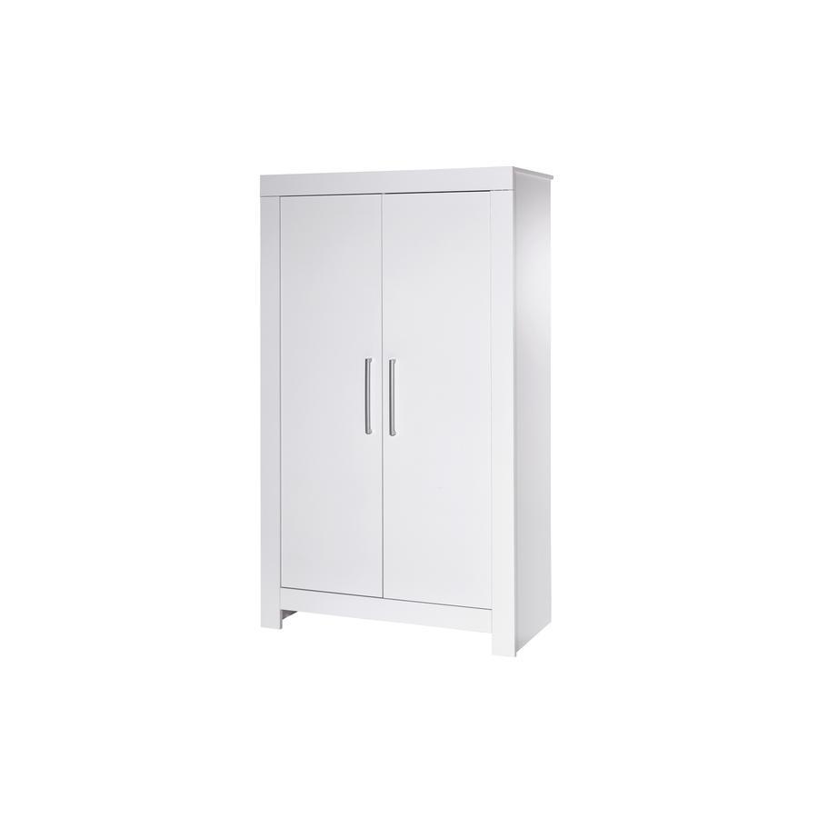 SCHARDT Armoire 2 portes NORDIC, surbrillance, blanc