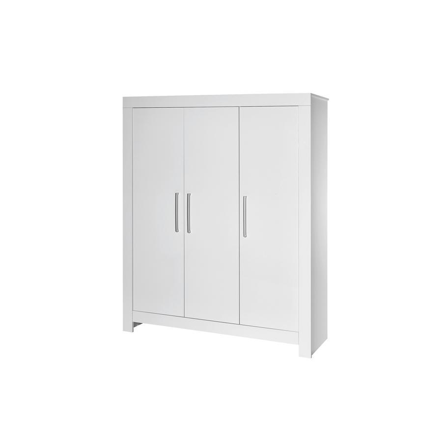 SCHARDT Armoire 3 portes NORDIC, surbrillance, blanc