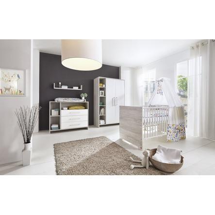 SCHARDT Set cameretta neonato ECO CASCINA bianco / colore del legno