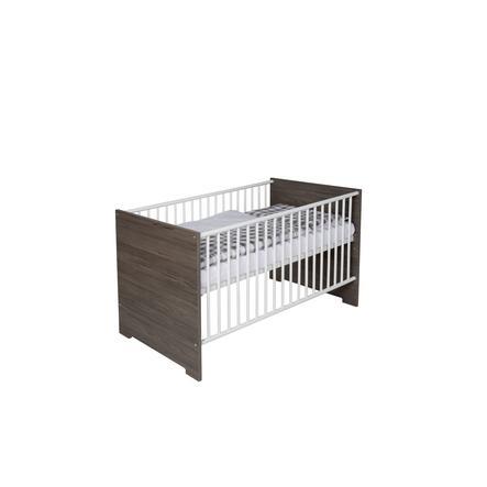 SCHARDT Kombi-Letto per bambino ECO FLEETWOOD 70x140cm bianco/ legno
