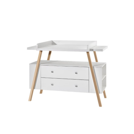 schardt commode langer avec table holly nature large blanc couleurs bois. Black Bedroom Furniture Sets. Home Design Ideas