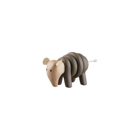 KIDS CONCEPT Vrstvící figurka mamut Neo Twist, přírodní