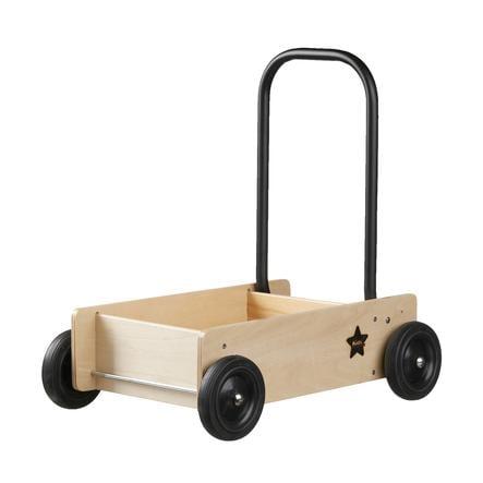 KIDS CONCEPT Carrello Neo con freno, legno naturale